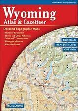 Wyoming Atlas & Gazetteer by Rand McNally P/B Book Very Nice Cond Ships FREE USA