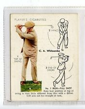 (Jc6465-100)  PLAYERS,GOLF,C.A.WHITCOMBE,NO 1 IRON-FULL SHOT,1939,#24