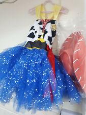 Girls Cow Girl Costume 5-6 Years halloween party fancy dress