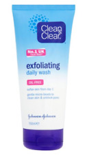 3X Clean and Clear Daily Exfoliating Face Wash 150ml OIL FREE***Multi-Buy***