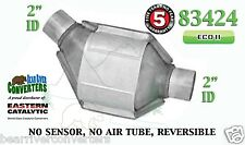 "83424 Eastern Universal Catalytic Converter ECO II Catalyst 2"" Pipe 8"" Body"