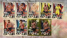MATCH ATTAX EXTRA 2020/21 TEAM SET OF 9 ATLETICO MADRID CARDS INC FOILS