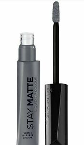 RIMMEL STAY MATTE Liquid Lip Color, SHADOW, FULL SIZE FREE SHIPPING