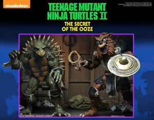 NECA TMNT Tokka & Rahzar Ninja Turtles Secret Ooze  PRE-ORDER CONFIRMED Mint Neu