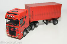 LION CAR BASED DAF 95XF 95 XF SPACE CAB SA-TRANS TRUCK WITH CONTAINER TRAILER