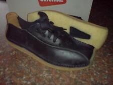 Clarks Originals Mens ** TOR LOW  ** Black Lea , DeadStock ** UK 7,8,9 G