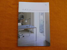 Original DIETER RAMS furniture sdr+ brochure catalogue catalogo no braun Vitsoe