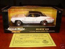 *RARE* Ertl/GS Club 1/18 1970 Buick GS 455 - Glacier White *1/803*
