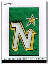 13-14 O-Pee-Chee TEAM LOGO Patches Minnesota NORTH STARS #122