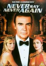 Never Say Never Again Dvd Sean Connery Brand New & Factory Sealed (1983)