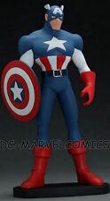 HARD HERO FACTORY NEW!! X-MEN Evolution CAPTAIN AMERICA MAQUETTE STATUE MARVEL