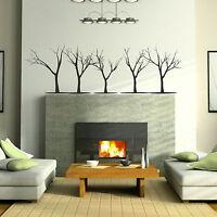 Hair Girl - Tree Wall Sticker / Stylish Art Decor / Large Tree Wall Transfer X73