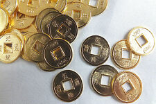 12 S CHINESE I CHING GOLD LUCKY TOAD COIN CONIARE Münze BIRTHDAY NEW YEAR PARTY