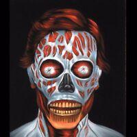 They Live Movie Obey Alien John Carpenter Art Black Velvet Oil Painting J292h