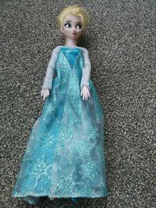 Disney Frozen Elsa Doll In Very Good Condition