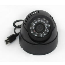 USB Recorder Motion Detection Night Vision Home CCTV Dome DVR Camera Video-out