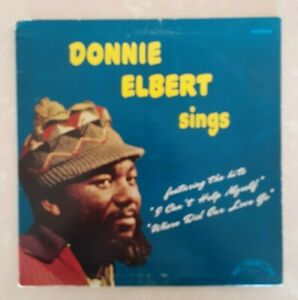 """(DONNIE ELBERT Sings )-Northern soul-""""A Little Piece of Leather""""-I1-LP"""
