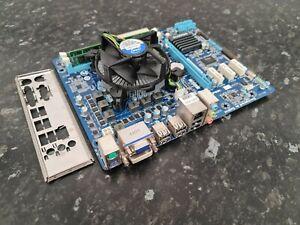 Intel Core i3-2100 @3.10GHz 4GB DDR3 GA-H61M-D2-B3 Bundle Tested Combo EC1004