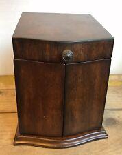 The Bombay Company 2006 Wood Jewelry Box Doors Open Lid Hooks Drawer