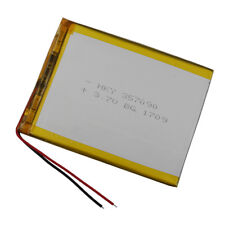 Rechargeable Polymer Li battery Lipo 3.7V 3500 mAh for ipod GPS Tablet PC 357090