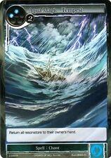FOW TCG Aqua Magic ~Tempest~ 2-054 R Valhalla Force of Will ENG MINT