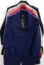 Women's Plus Size Button Trench Coats, Macs Coats & Jackets