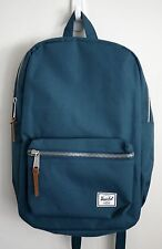 HERSCHEL SUPPLY CO SETTLEMENT MID BACKPACK TEAL BLUE MSRP $60- BRAND NEW w/TAG!