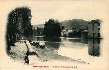 CPA Bar - sur - aube .- L'aube et mathaux  (197104)