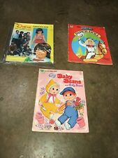 Three Paper Doll books: Dodie (My Three Sons), Barbie, Baby & Buffy Beans