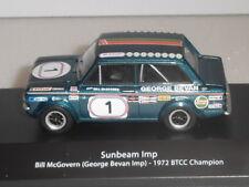 BTCC CHAMPION CARS,SUNBEAM IMP 1972 BILL McGOVERN  (GEORGE BEVAN IMP). MAG HR07