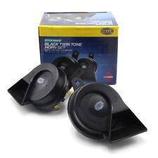 Snail Horn Hella 72 watts 12V 110 dB 400 Hz - 500Hz Black Trim For Universal