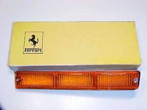 Ferrari Mondial Front Directional Turn Signal Light Lense_3.2 QV_3.4_61943200_OE