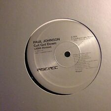 PAUL JOHNSON • Get Get Down • Vinile 12 Mix • 2008 RISE 414bis