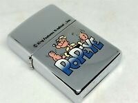 "Unused! ZIPPO 1996 Limited Edition ""Popeye"" Character Cartoon Lighter Silver"