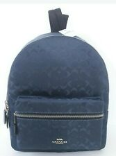 Authentic COACH MEDIUM CHARLIE BACKPACK IN SIGNATURE NYLON (COACH F73186)