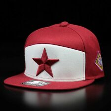 STARTER BLACK LABEL RED STAR SNAPBACK CAP