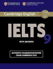 Cambridge IELTS 9 student's Book Con Respuestas: Auténtico Examen Papeles De