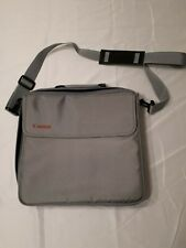Canon Grey Carrying Case With Adjustable Strap Laptop
