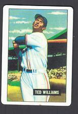 Ted Williams Danbury Mint Porcelain Reprint Card 1951 Bowman 165
