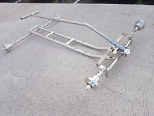 S. Steel Chassis for Radio Flyer (Chassis Pull Rod Quick Release Wheel Aapters)