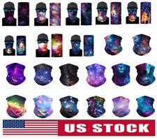 Galaxy Face Mask Balaclava Scarf Neck Fishing Shield Sun Gaiter UV Headwear