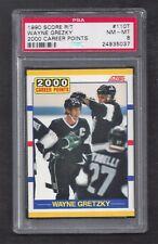 1990 Score #110T Wayne Gretzky, PSA 8 NM-MT, LA Kings NHL Hockey 1990-91