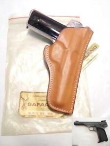 #15 BRNG Vintage RARE FIT SAFARILAND Gun Holster for BROWNING 10/71 Ok for 1922
