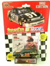 1993 DAVEY ALLISON #28 HAVOLINE 1/64 DIECAST W/CARD & DISPLAY CASE FREE SHIP