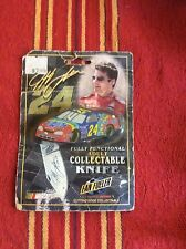 Jeff Gordon Collectible Knife Nascar Approved From1998