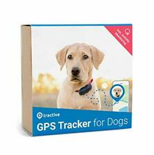 Tractive GPS Dog Tracker - Location Tracker with Unlimited Range, Rechargable