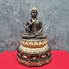 10 8  Thailand Lek Lai Magic Stone Shakyamuni Buddha Statue On Zodiac Sign