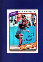 Butch Wynegar 1980 TOPPS Baseball #304 (MINT) Minnesota Twins