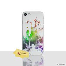 Disney estuche / funda Apple iPhone 5 5S se protector de pantalla silicona