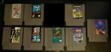 8 Nintendo, NES Lot / Bundle - Mario + Metal Gear + TMNT + Pitfall